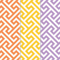 Seamless vintage retro modern pattern Royalty Free Stock Photos
