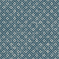 Seamless vintage worn out flower check pattern background. Royalty Free Stock Photo