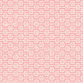 Seamless vintage worn out pink square sequence pattern background. Royalty Free Stock Photo