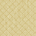 Seamless vintage worn out yellow square check geometry pattern background. Royalty Free Stock Photo