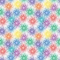 Seamless vivid pattern Royalty Free Stock Image