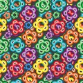 Seamless vivid pattern Stock Images