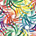 Seamless vivid pattern Stock Image