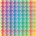 Seamless vivid wave pattern Stock Photography