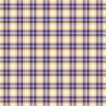 Seamless wall-paper plaid, lavender-yellow. Bright tartan texture.