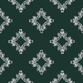 Seamless wallpaper with abstract patterns. For the interior design, business. Set of seamless backgrounds and design elements for Royalty Free Stock Photo