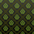 Seamless Wallpaper floral green Stock Photos
