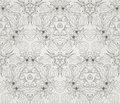 Seamless wallpaper with floral ornament Stock Photography