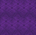Seamless wallpaper pattern in shades of purple Royalty Free Stock Photo