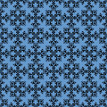 Seamless Wallpaper Tile Design Royalty Free Stock Photo