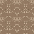 Seamless Wallpaper Tile Design Royalty Free Stock Image