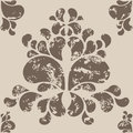 Seamless Wallpaper Vector Pattern Royalty Free Stock Images