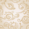 Seamless wallpaper. Vintage background Stock Photography
