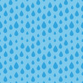 Seamless water drop pattern Royalty Free Stock Photo