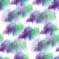 Seamless  watercolor green, lilac artist Mural