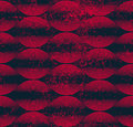 Seamless wave lines pattern abstract geometric background vect vector illustration Royalty Free Stock Images