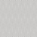 Seamless wavy line pattern Royalty Free Stock Photo