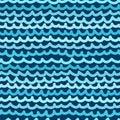 Seamless wavy pattern. Vector illustration