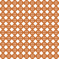 Seamless wicker pattern interleaved interwoven bands in a rhombus on white background Royalty Free Stock Photography