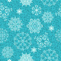 Seamless Winter Pattern Stock Photos