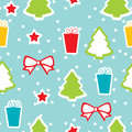 Seamless winter pattern, Christmas Stock Photography