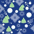 Seamless winter pattern with snowflakes, snow. Vec Royalty Free Stock Photos