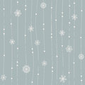 Seamless winter pattern vector illustration Stock Images