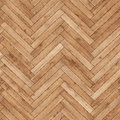 Seamless wood parquet texture herringbone light brown Royalty Free Stock Photo