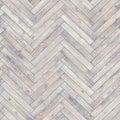 Seamless wood parquet texture herringbone white Royalty Free Stock Photo