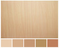 Seamless wood texture with colored palette guide for design work Royalty Free Stock Photos