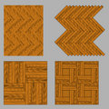 Seamless wooden parquet Royalty Free Stock Photo