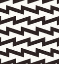 Seamless zig zag geometric pattern textured Royalty Free Stock Photography