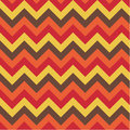 A seamless zig zag pattern in four colours Stock Photo