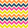 Seamless zig zag pattern Royalty Free Stock Photo