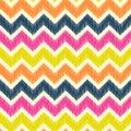 Seamless zig zag pattern Royalty Free Stock Photo
