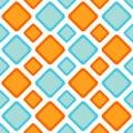 Seamless zigzag diamonds backgound pattern