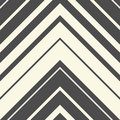 Seamless ZigZag Pattern. Abstract Black and White Arrow Backgrou Royalty Free Stock Photo
