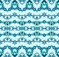 Seamless zigzag pattern turquoise blue gray purple