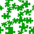 Seamlessly repeatable Puzzle Tile Stock Photography