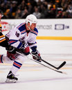 Sean avery new york rangers former forward Royalty Free Stock Image