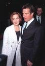 Dennis Quaid,Gillian Anderson Royalty Free Stock Photo