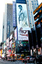Sean John Billboard, Times Square, NYC. Royalty Free Stock Photos
