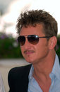 Sean penn actor director at the cannes film festival where his movie the pledge is in competition may paul smith featureflash Royalty Free Stock Photography