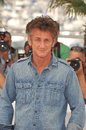 Sean penn photocall his new movie must be place competition th festival de cannes may cannes france picture paul smith Stock Photography