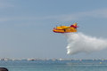 Seaplane Canadair CL-215 Royalty Free Stock Photos