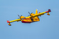 Seaplane Canadair CL-215 Royalty Free Stock Photography