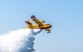 Seaplane canadair cl cadiz spain sep taking part in an exhibition on the st airshow of cadiz on sep in cadiz spain Stock Images