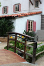 Seaport Village Architecture, California Royalty Free Stock Photo