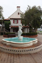 Seaport Village Fountain, California Royalty Free Stock Photo