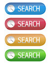 Search button Stock Photography